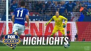 Yevhen Konoplyanka scores for Schalke against RB Leipzig | 2017-18 Bundesliga Highlights