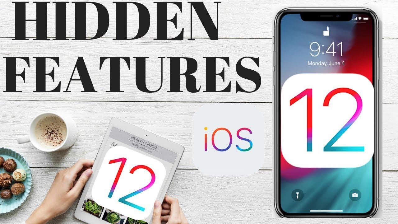 HIDDEN FEATURES OF IOS 12 - IOS 12 TIPS & TRICKS