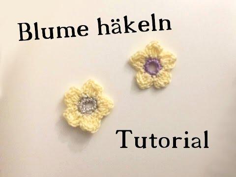 Eine Kleine Blume Häkeln Tutorial Lifeiscreation Youtube