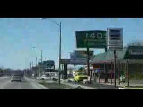 Driving around Springfield, Illinois