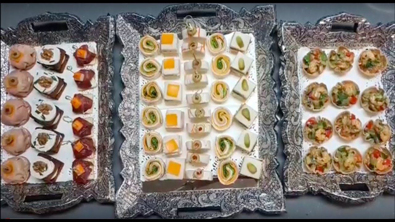 10 Assortiments De Canapes Sales La Recette