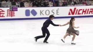 Tessa Virtue / Scott Moir - Free Dance  - NHK 2016  (B ESP)