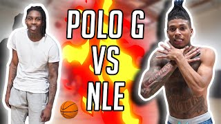 ​@Polo G  VS @NLE CHOPPA 5v5 PICKUP GAME & 3 Point Contest!