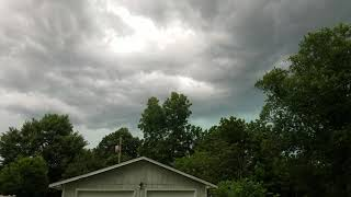 Loud thunder in Cleveland Tennessee