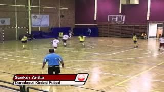 Dunakeszi Kinizsi Futsal Klub - 2013 Női góljai