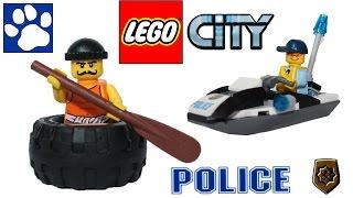 Распаковка Лего Сити 60126 Побег В Шине   Unboxing Lego City  (60126) Tire Escape