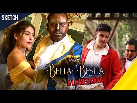 LA BELLA Y EL BESTIA A LA MEXICANA - Take Uno Tv