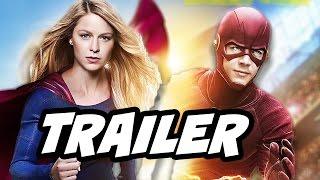 The Flash Season 3 Supergirl Arrow Fight Club Trailer Breakdown