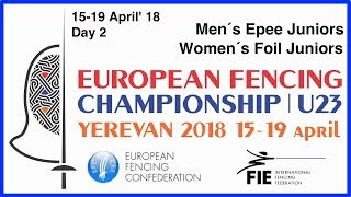 Day 02 2018 European fencing championships U23 - Blue