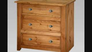 Amalfi Antique Waxed Pine Bedroom Furniture.wmv