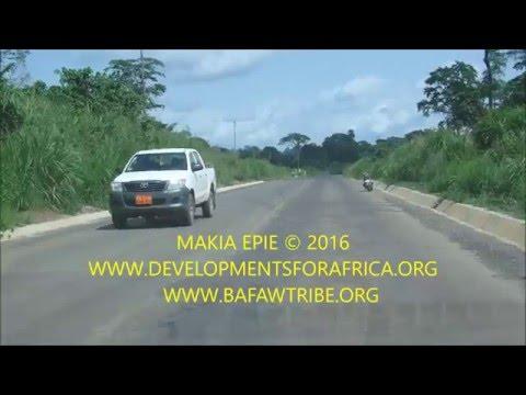 KUMBA - MAMFE ROAD CONSTRUCTION - MAY 2016