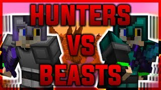 Hunters vs Beasts - The Newest Hypixel Skywars Lab Mode
