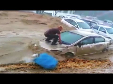 Ankara Strongly Affected by the FLASH FLOOD 🌊 Heavy rains in Turkey.