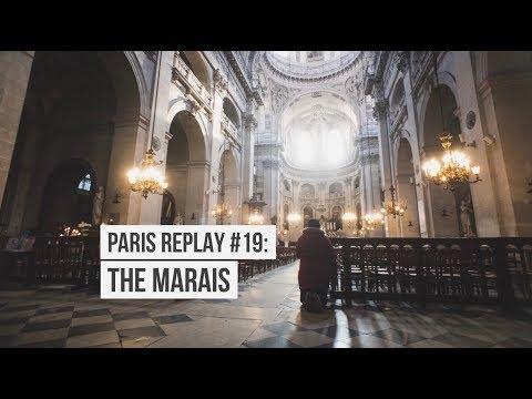 Ep 19 - Le Marais: Rue St Antoine to Place des Vosges - Video Tour of Paris (Live Replay)