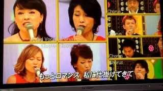10月8日ハモネプ 1st ROUND自由曲 チーム→スパークリング ヴォイス 曲→...