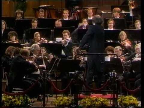 Hans Vonk dirigeert het Radio Filharmonisch Orkest (1973, 1978, 1992 en 1995)