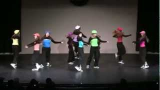 Me Without You by TobyMac - The Stage Dance Team at 2012 Christmas Show