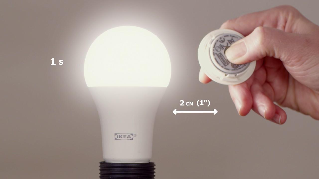 Ikea Appairage D Une Ampoule Avec Le Variateur Tradfri Youtube
