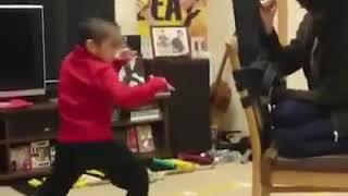 Baby bruce lee amazing martial arts