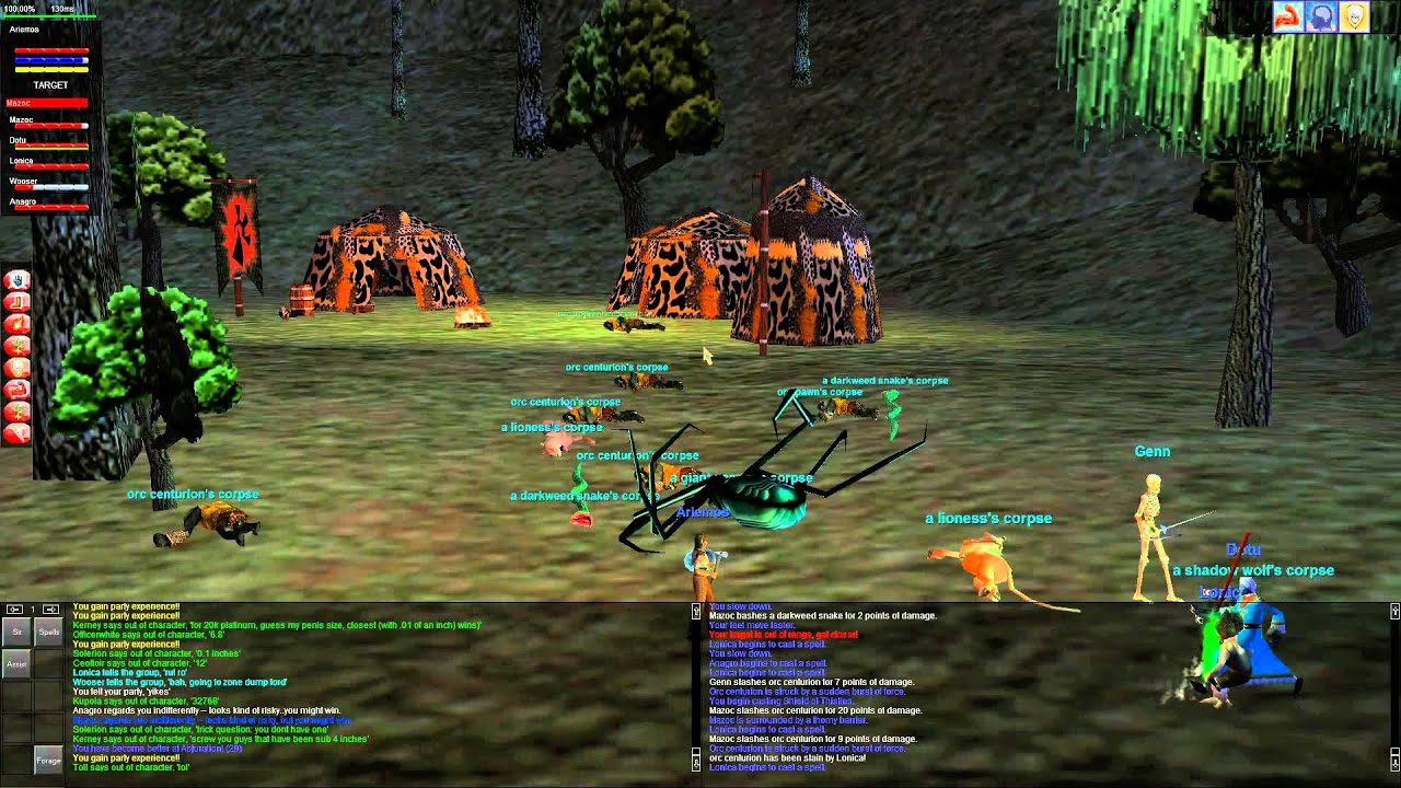 EverQuest (Project 1999) - East Commonlands - Orc Camp 1