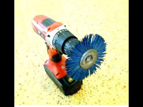 Another cleaning use for rotary nylon brush