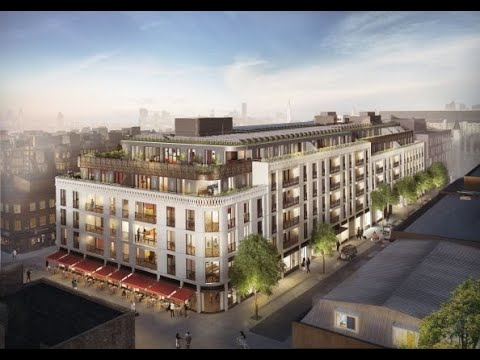 Marylebone Square W1 - Central London's newest developments available off plan for completion 2023