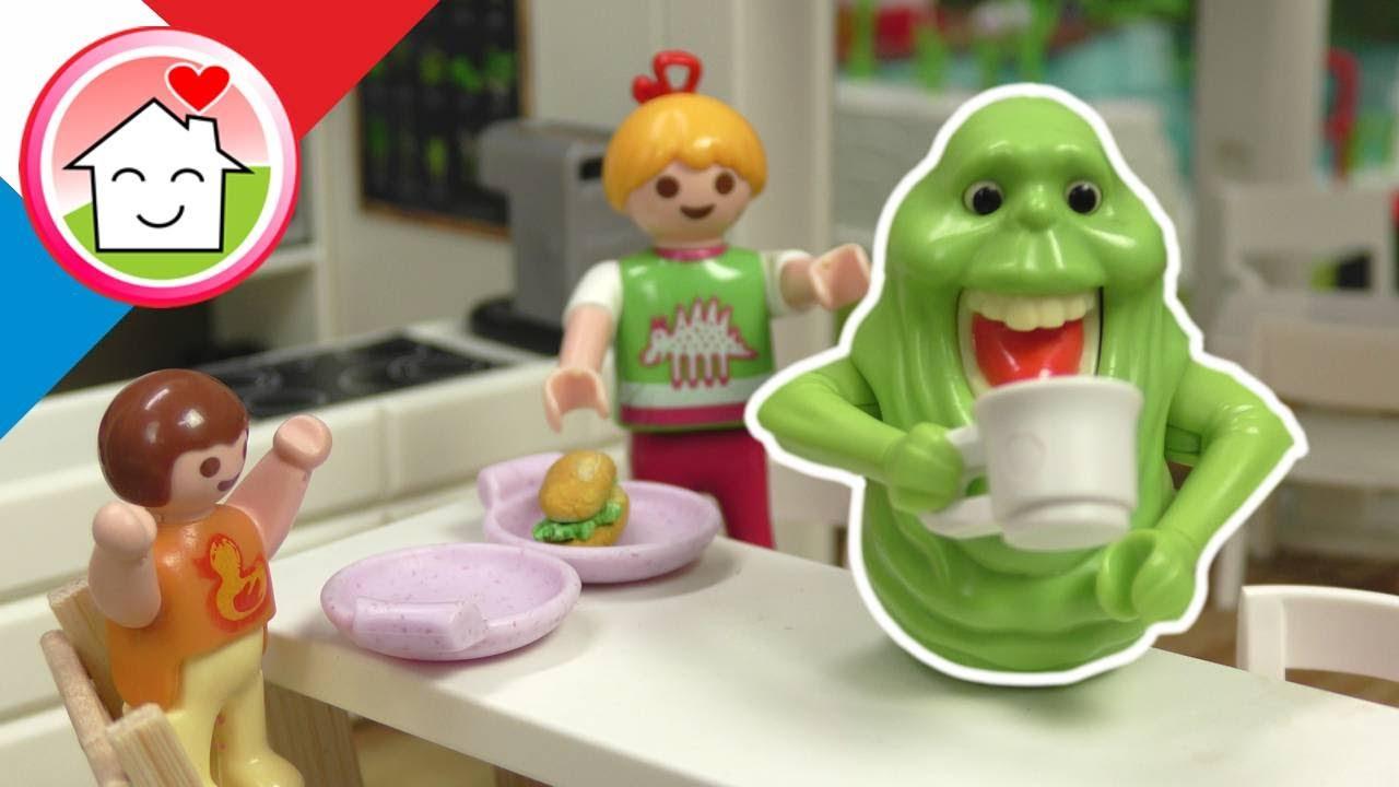 Playmobil en francais Slime Bouffe-tout avec la famille Hauser
