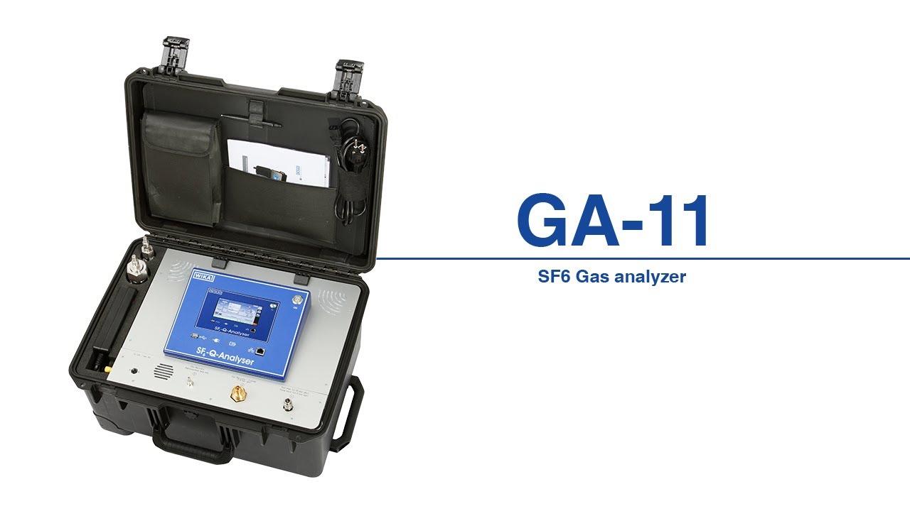 Analysegerät zur Ermittlung der SF6-Gasqualität, T...