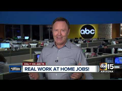 Joe lets you know about legitimate work-at-home jobs