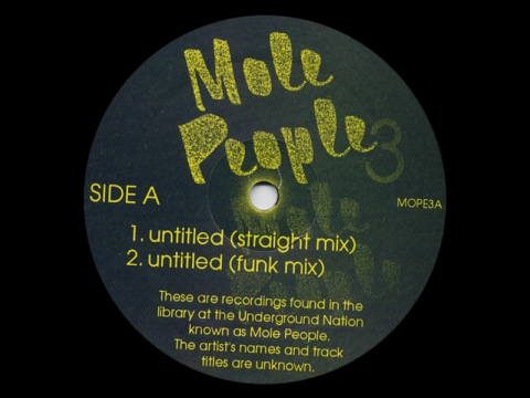 Mole People ‎- Untitled ( Funk Mix ) ( Mole People 3 )