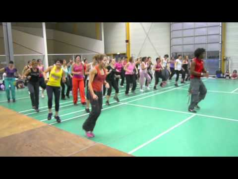 Zumba Master class in France Martin Mitchel
