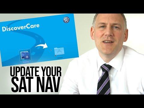 How To Update Your Volkswagen Sat Nav System
