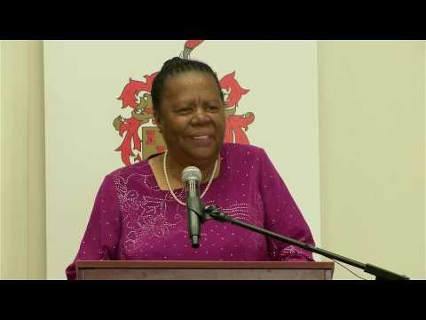 Honorary Doctorate: Naledi Pandor
