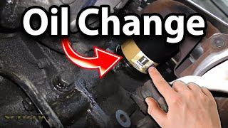 Change Your Own Oil And Save
