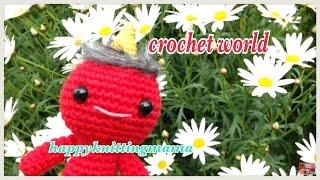 鬼のあみぐるみがマッシュ襲う・・・!?【crochet world#4】happyknittingmama/ハピママ