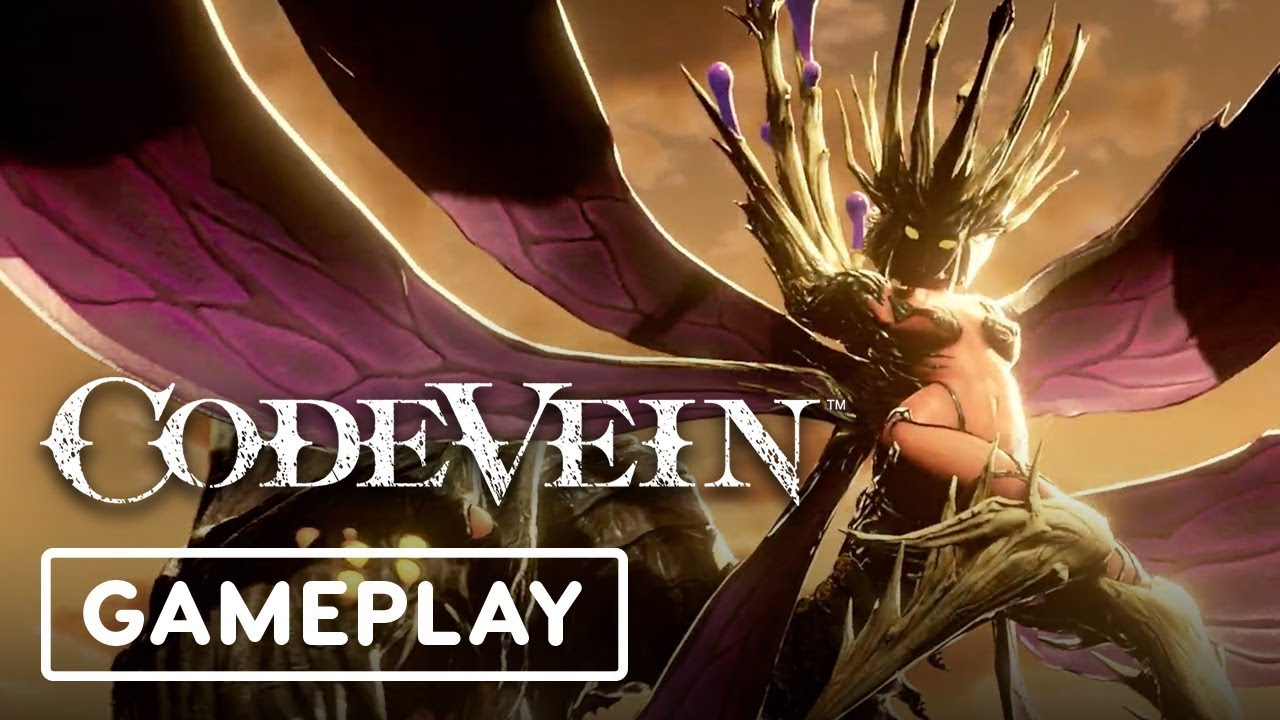 Code Vein Gameplay Showcase - IGN LIVE E3 2019