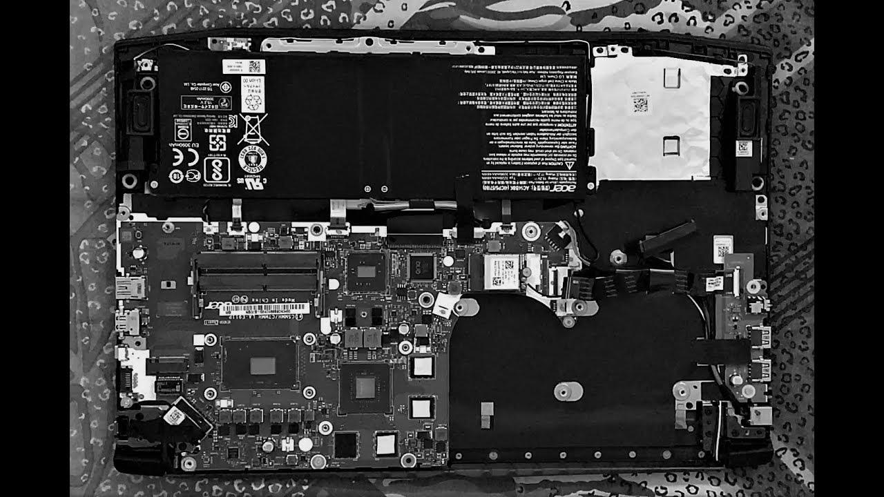 Acer Predator Helios 300 Teardown Repasting