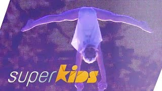 Showgirls age 10-13 fairy dance with acrobatics | Superkids