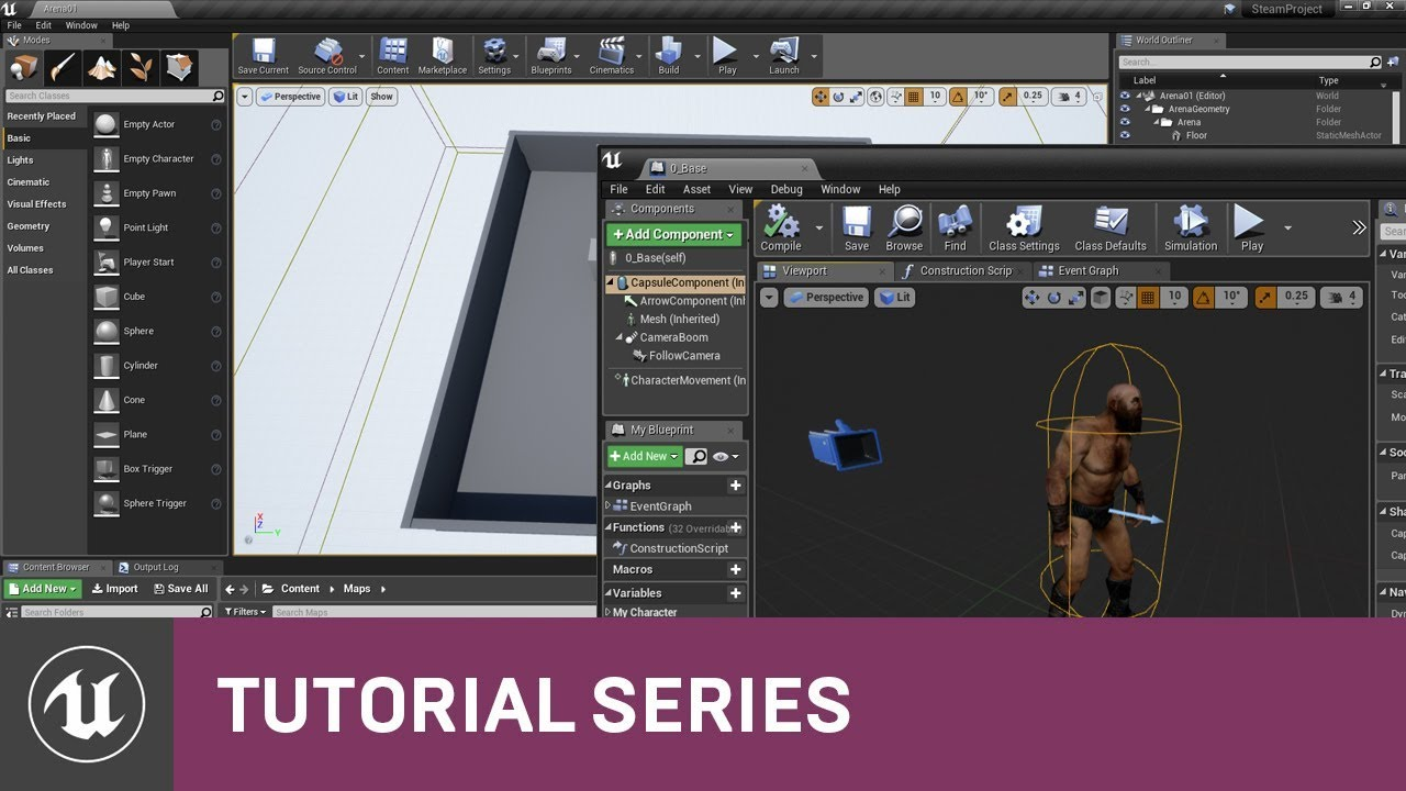 Blueprint multiplayer project setup 02 v411 tutorial series blueprint multiplayer project setup 02 v411 tutorial series unreal engine malvernweather Images
