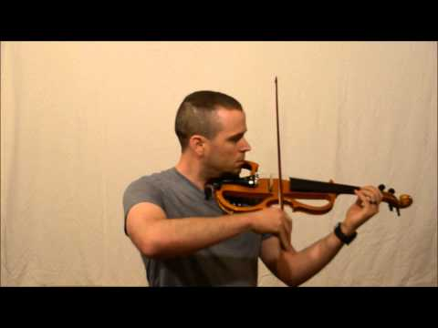 Acoustic, Muted, and Electric Violin Comparison