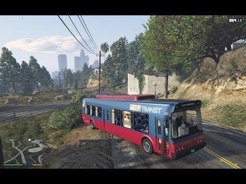 GTA V funny ads livery for bus mod