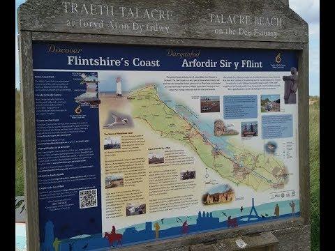 Discover Flintshire Coast Beach | Arfordir Sir y Fflint | Wales, UK
