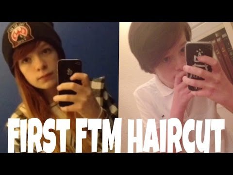 First FTM Haircut YouTube