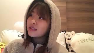 프로듀스48에 출연했던 나카니시 치요리(中西 智代梨)의 2019년 2월 27...