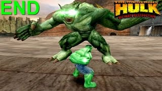 The Incredible Hulk: Ultimate Destruction PS2 Gameplay #11 [Hulk vs Abomination Final Battle]