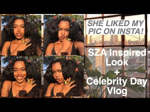 SZA Approved Inspired Look + Celebrity Day School Vlog