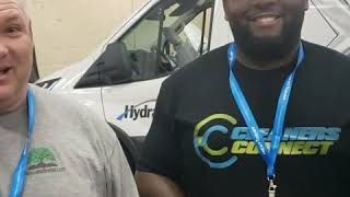 The Experience cleaning expo in Las Vegas | Day 2