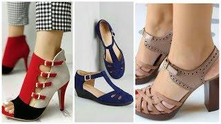 Platform sandals and shoes designs || amber beauty fashion