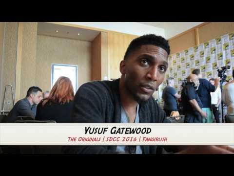 THE ORIGINALS SDCC 2016 : Yusuf Gatewood