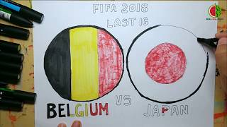 Final 16: Belgium vs Japan | FIFA World Cup Russia 2018